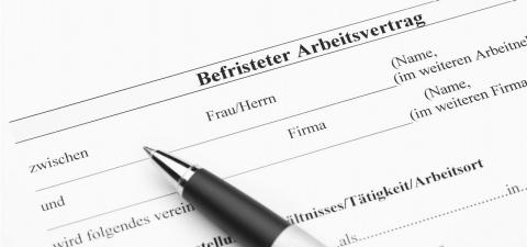 Befristeter Arbeitsvertrag Das Rechtsportal Der Ergo
