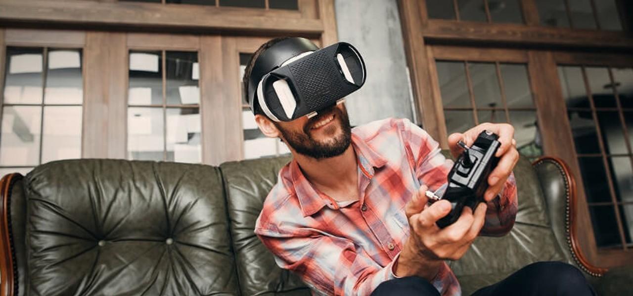 Lesbische virtuelle Realität 360